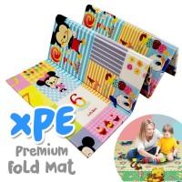 Matras Lipat Bayi Premium XPE Folding Mat Motif Bolak Balik 180x200 CM