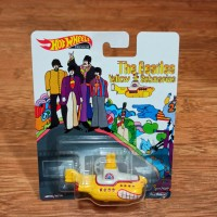 Diecast Hot Wheels Premium The Beatles Yellow Submarine Limited Series