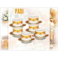 Cup And Saucer Vicenza CS 91 CS91 |Cangkir Set Tea Set