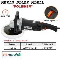 Mesin Polisher Alat Poles Mobil 180mm