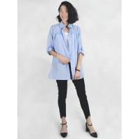 MOOIMOM Casual Stripe Shirt Baju hamil & Menyusui