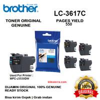 BROTHER Tinta LC-3617C   LC3617C   LC3617 C Original Cyan