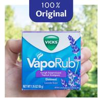 Vicks Vaporub Cough Suppressant - Lavender - Menekan Batuk - EXPIRED