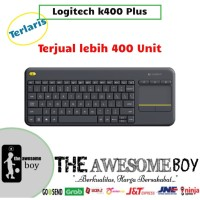 Logitech Wireless Touch Keyboard K400 Plus Touchpad Tablet Android PC