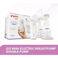 Pigeon Go Mini Electric Double Breastpump Breast Pump Pompa ASI