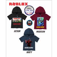 Koas Hoodie Anak ROBLOX Free Nama Banyak Motif