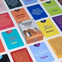 Kartu Mainan Edukasi Anak Bayi Konsep Flashcard Pengetahuan Islam