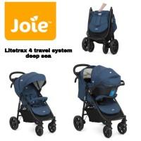 (Baby Club Itc Bsd) Stroller Joie Litetrax 4 Travel Sistem+carseat