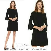 TOMT Women solid jersey sleeve Dress