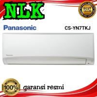 AC PANASONIC 3/4 pk + PASANG INSTALASI CS/CU-YN 7 TKJ 0.75pk Freon R32