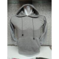 (PROMO) Sweater Polos Hoodie Jumper Abu Misty - Grey