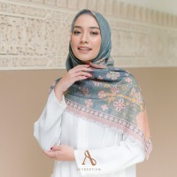 HIJAB SEGI EMPAT AUTHENTISM SHANNA SERIES PALE GREEN / VOAL ULTRAFINE