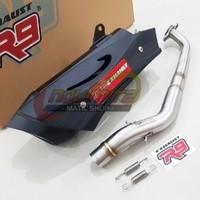 Knalpot Racing Full System R9 Misano Yamaha NMAX 2020