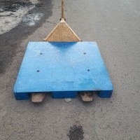 PALLET PLASTIK FLAT 120X100X12/15