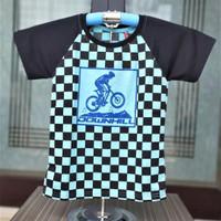 Kaos Catur Anak Motif Random/Atasan Catur Anak Cowo/Anak Laki Murah