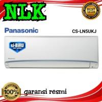 AC PANASONIC CS - LN 5 UKJ Split 1/2pk pasang instalasi SI BIRU 1/2 pk