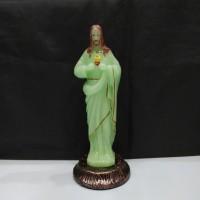 patung Yesus hati Kudus Fosfor / patung Yesus Glow in the dark