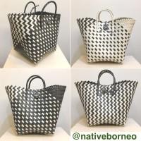 Kana Bag - Shopping Bag Anyam, Tas Belanja, Goodie Bag, Tas Parcel