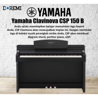Yamaha Clavinova CSP 150 B - PIano Digital CSP 150 B - CSP-150B