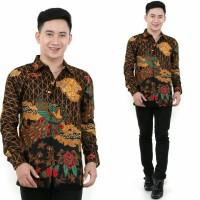 Kemeja Batik Pria Lengan Panjang Diandra