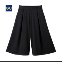 Un*qlo plaeted Cullote Pants 7/8