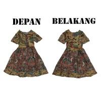 Batik IFA - Baju Batik Anak Perempuan - Dress Anak Perempuan - Kode 03