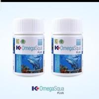 Omega squa Klink/ Minyak ikan squalen soft gel/ obat jantung koroner
