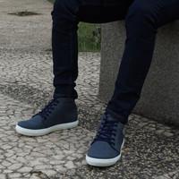 Sepatu Pria Sneakers Cowok Casual Dane and Dine Zambi 4 pilihan warna