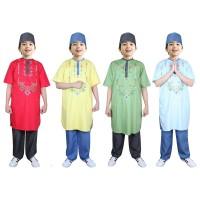 Fayrany FKW-014 Baju Muslim Koko Pakistan Anak Warna size 6 - 15 Tahun