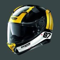 Nolan N87 Plus Distinctive N-COM Glossy Black Yellow