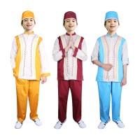 Baju Koko Anak Warna Fayrany FKW-013 Size 6 - 15 Tahun