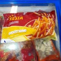 Fiesta shoestring 1kg kentang goreng beku
