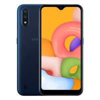 Samsung Galaxy A01 SM-A015F Smartphone - 2/16GB - Garansi Resmi - Blue