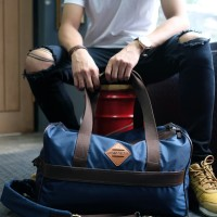 Tas Travel Backpack URBAN FACTOR series Vacation Navy