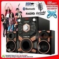 Niko Thunder speaker aktif 2 1 bluetooth karaoke radio limited
