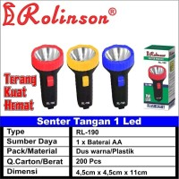 Senter Mini LED Murah RL190 RL-190 baterai aa 1pc