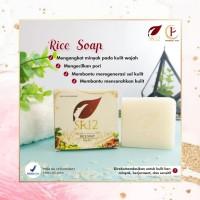 RICE SOAP SR12/SABUN WAJAH UNTUK KULIT BERMINYAK & BERJERAWAT