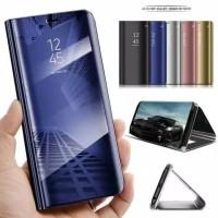 Clear View Xiaomi Redmi S2 Flip Mirror Case Casing Standing Book Cover