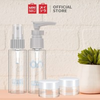 Miniso Official Botol travel set We Bare Bears Travel Kit