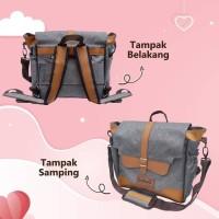 GABAG ADINA Cooler Bag Ransel Backpack Insulation Bag Tas ASI