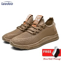 Leedoo Sepatu Pria Sepatu Olahraga Sepatu Sneakers Fashion Pria MR109