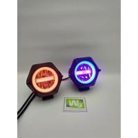 LAMPU TEMBAK V9 LED CREE + USB CHARGER