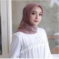 jilbab instant salwa segi empat simple kerudung
