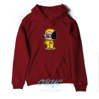 sweater hoodie wanita BT21 BTS chimmy jaket perempuan 01