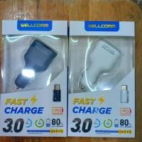 Car Charger Welcome Usb Pd Fast Charge 3.0 Bulan.7777