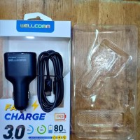 Car Charger Welcome Usb Pd Fast Charge 3.0 Bulan.7