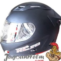 KYT Helm RC Seven / RC7 / RCSeven / RC-Seven Black Doff