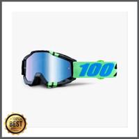 Goggle 100percent Accuri Zerg - mirror blue lens - Original