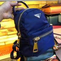 Tas Murah Ransel Prada Nylon Uk.20X25 Fashion Tas Wanita Import Brand