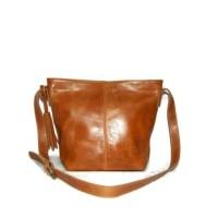 Tas Kulit Asli Wanita Selempang Premium Leather Sling Bag - Kelly Brow
